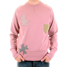 Fake London Genius rose pink long sleeve sweatshirt. HMW764 701P FAKE6817