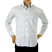 Paul Smith shirt double cuff mens spotted shirt 652F 140 PS6447