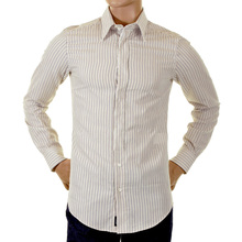 D&G beige striped Dolce & Gabbana shirt RS0119 TN5F4 DGM0980