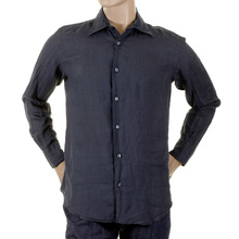 Armani mens navy shirt H6192N 17789 GAM3513