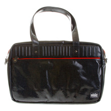 RMC MKWS Unisex Coated Denim Hand Carry Office Bag with Laminated Tartan Lining REDM5541