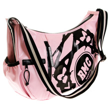 RMC Jeans Unisex Laminated Canvas Light Pink Fashion Shoulder Bag for Cyclists REDM5575
