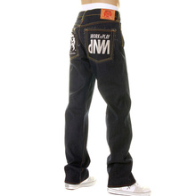 RMC Martin Ksohoh House Selvedge Raw Denim Vintage Cut Work N Play Silver Embroidered Jeans for Men REDM3730