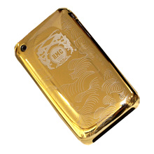 RMC Martin Ksohoh Limited Edition Gold Covered Aluminium iPhone 3GS Incase Slider Case REDM1982