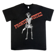 Rogue Monk black frontier justice t-shirt RMNK3859