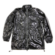Yoropiko by RMC Jeans Mens Functional Regular Fit Black Jacket YORO2978