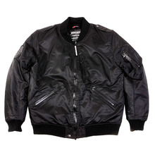 Yoropiko x RMC Red Monkey Black Padded Regular Fit Water and Wind Proof Blouson Jacket REDM3158