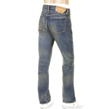 Sugar Cane Mens SC40065H Vintage Cut Union Star Light Hard Wash Japanese Selvedge Denim Jeans CANE9027