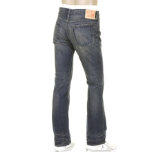Sugar Cane SC40321H Japanese selvedge hard wash bootcut denim jeans CANE9030