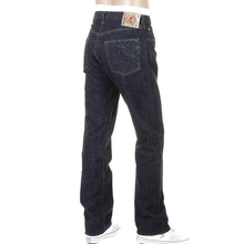 Sugar Cane Mens One Wash SC40301A Selvedge Denim Jeans Made from Cotton and Okinawa Sugar Cane Fibres CANE4068