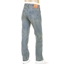 Sugar Cane Jeans SC41947H light hard vintage wash denim jeans CANE5252