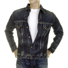 Sugar Cane jacket SC11901H dark hard wash Lone Star denim jacket CANE2822