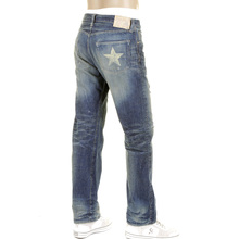 Sugarcane Lone Star SC40902R Japanese Selvedge Denim Vintage Cut Jeans for Men CANE2106