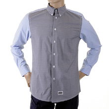 RMC Martin Ksohoh MKWS black and blue patch sleeve shirt REDM2112