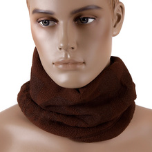 RMC Martin Ksohoh MKWS Fleece Neck Warmer Snood in Brown REDM5501A