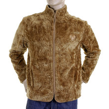 RMC Martin Ksohoh Brown R6MPJK489WGOXXN1 High Collar Regular Fit Polyester Faux Fur Jacket REDM2817