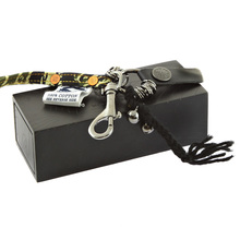 RMC Martin Ksohoh Tiger Camo Key Chain in Green RQA11039 Presented In Hand Crafted Wooden Box REDM0495