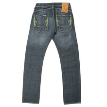 Ijin jeans dark indigo regular fit denim jean IJIN1737