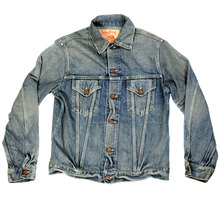 Sugar Cane Hard wash denim jacket SC11962H CANE9035