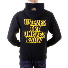 RMC Martin Ksohoh Black Hooded Large RWC141264 Fit UNTUNK Print Overhead Sweatshirt for Men REDM0911