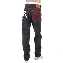 RMC Martin Ksohoh slim cut Rock n Roll jean red tsunami wave RMC 1001 model jeans REDM5035