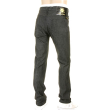 Yoropiko Mens Super Exclusive Black Stretch Slim Fit Denim Jeans by Martin Yat Ming YORO0468