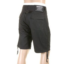 RMC Martin Ksohoh MKWS Camo Trim Super Exclusive Mens Chino Black Shorts with Zip Fly REDM0999