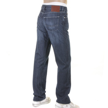 Boss Black jeans Texas 50207547 420 washed blue Hugo Boss denim jean BOSS2495