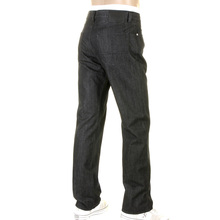 Boss Black jeans Texas 50207583 002 washed black Hugo Boss denim jean BOSS2496