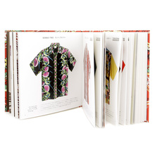 Limited Edition SS01881 Red F/Rayon Hawaiian Shirt Fabric Covered Hardback Aloha Project Image Book SURF2824E