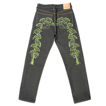 Evisu jeans embroidered bonsai tree denim jean EVIS4270