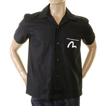 Evisu sizzling hot denim diner early original genuine rare ES03MSS04 H14 black shirt EVIS0111