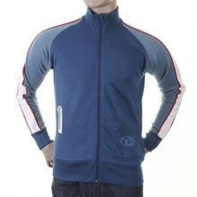 Evisu Mens Early and Original Ink Blue Regular Fit Zip Front Collared Osaka Track Jacket EVIS0307