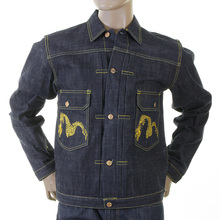 Evisu Heritage Early Original Non Wash Denim Number One Special Jacket EVIS1690