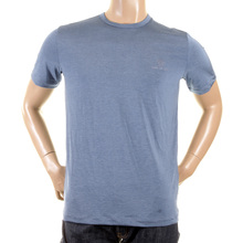 Versace t shirts pale blue crew neck t shirt 53IV1721 05325 VJCM1341
