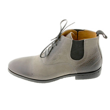 DiSanto boots 2973 grey deer skin lace up boot DISA1131