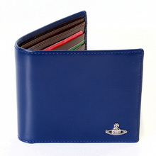 Vivienne Westwood electric blue leather boxed wallet  VW065 33017 VWST2025