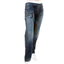 Armani Jeans J25 regular fit R6J25 7J dark indigo denim jeans AJM0059