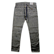 Armani Jeans J10 slim fit R6J10 7T dark grey denim jeans AJM0010