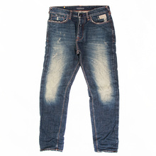 Scotch & Soda 1206 07 85110 Dean lot 2 dark worn finish denim jeans SCOT1107