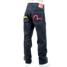 Evisu Limited Edition Vintage Cut Japanese Unwashed Selvedge Raw Denim Jeans EVIS7113