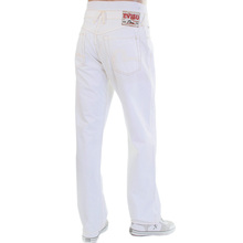 Evisu EU European edition ES04EM JE04 GT01 washed white jeans EVIS2196