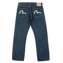 Evisu EU European edition ES05EM JE18 painted logo denim jean EVIS3083