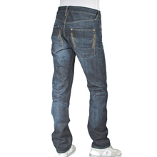 Ijin mens J5241 23L1 red line vintage wash denim jeans Ijin2241