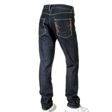 Ijin mens J5214 23E red line leg slim denim jeans Ijin2245