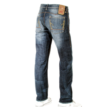 Ijin mens J5094 75L7 sawtooth wytte wash denim jeans Ijin1378