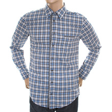 Hugo Boss Orange Label mens check 502226648 CielcebuE shirt BOSS1546