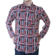 Hugo Boss Orange Label mens cherry check 50232476 EquatorE shirt BOSS2870
