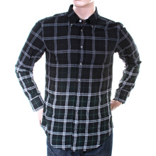 Hugo Boss Orange Label mens racing green check 50232476 EquatorE shirt BOSS2869