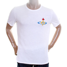Vivienne Westwood Anglomania mens LV93BA13 white t shirt VWST2672